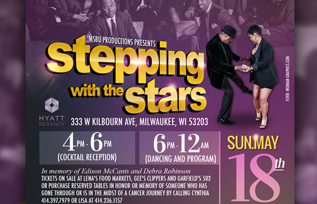 "Milwaukee Steppers & Boppers United presents ""Steppin' With The Stars"""